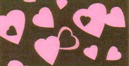 Comprar Goma Eva 35x47 Corazones Rosa Fondo Café 2mm | Arcilla de Metal | Tienda de manualidades con Art Clay Silver, Precious Metal Clay (PMC), Fimo, Sculpey Premo