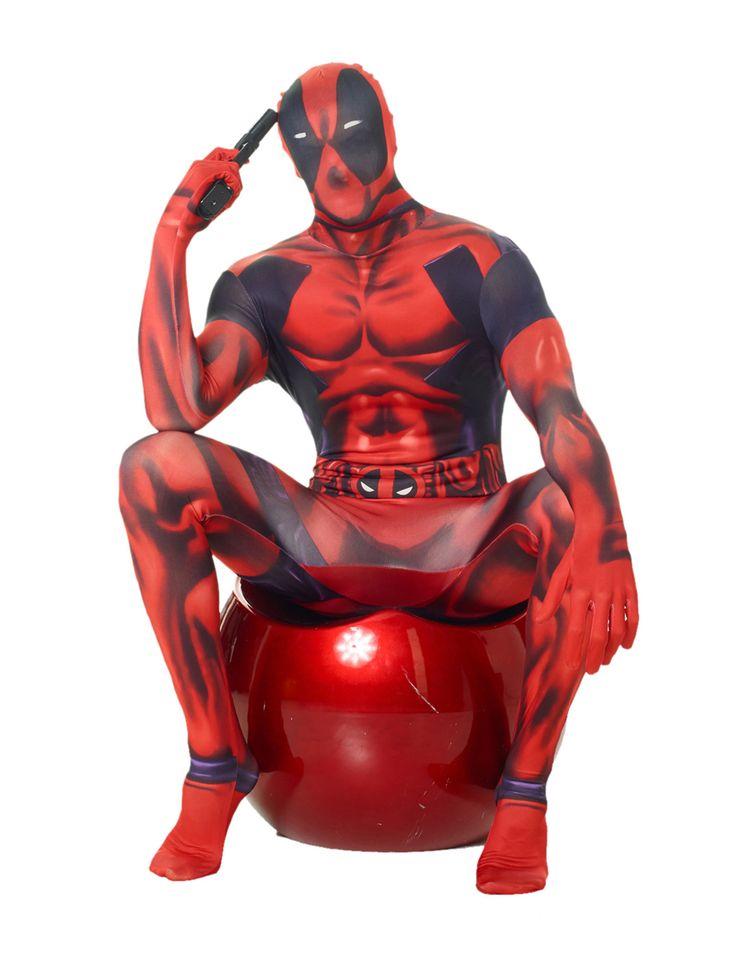 Déguisement Morphsuits™ Deadpool classique adulte