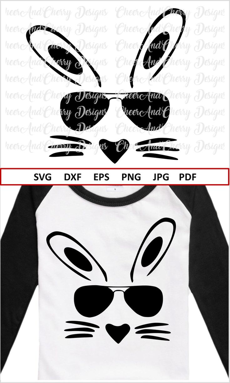 Bunny Face Svg Easter Bunny Svg Boy Easter Svg Files For
