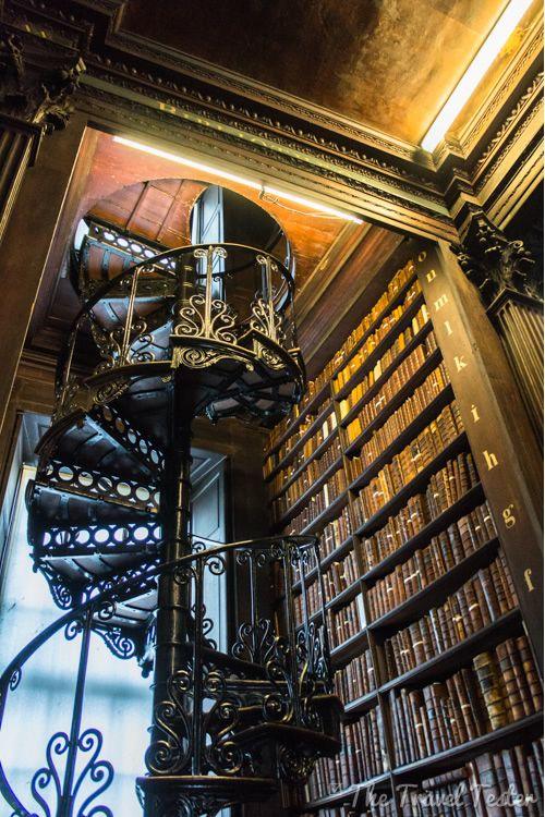 A Day In Dublin - the library staircase at Trinity College