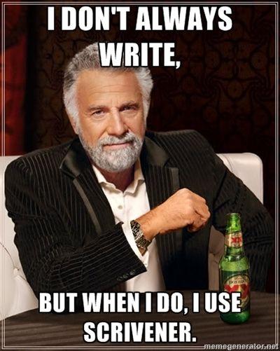 Scrivener!