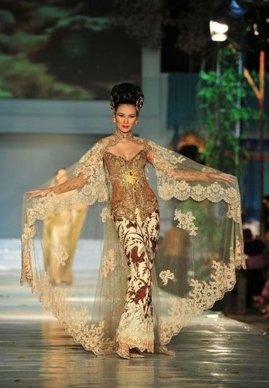 top 10 the best kebaya modern lace 2016