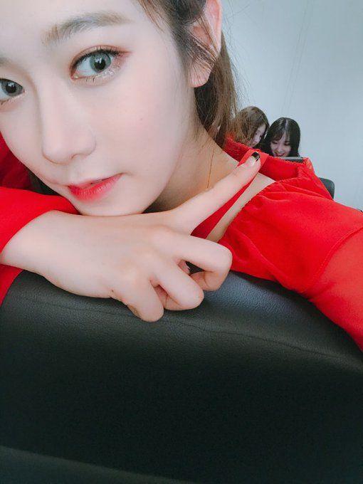 PRISTIN ♡ ReNa 레나 (Kang YeBin 강예빈) at Show Champion 170517 'Black Widow' special promotions #레레 #콩 #예빈 #블랙위도우