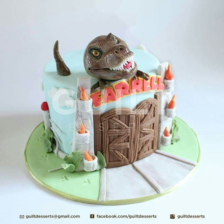 Dinosaur Cake Decorations Uk : 17 Best images about dinosaur cakes on Pinterest Baby ...