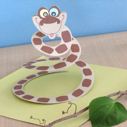 Python Party Favor - jungle book