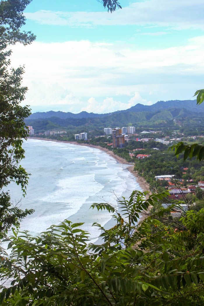 Playa Jaco, the popular surfing beach town in Costa Rica. Click through to read our guide to visiting: http://mytanfeet.com/costa-rica-beach-information/playa-jaco-costa-rica-surfing/