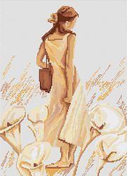B268 Impresión €13.10  Kit punto de cruz Marca: Luca-S Hilos: Anchor Tela Aida: Zweigart Dim: 20.0x28.0 cm  Colores: 21.  Canvas - Aida 18