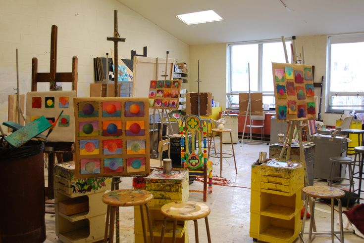 The creative process and learning about learning paint studio art and home - Home art studio ...