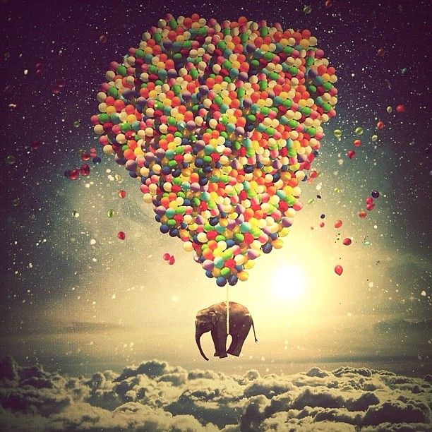 Balloon-Heart + Elephant?