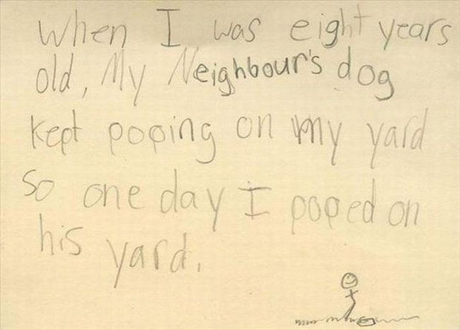 32 Hilarious Notes From Kids - Funny Gallery
