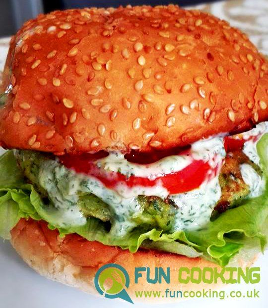 Pakistani Street food style burger also know as bun kabab FOR VEGE PATTY Potato 4-5 split pea/channa dal 3/4 cup fresh coriander 10 gm fresh mint 10 gm green chili 1 salt 1 tsp red chili powder 1/4 tsp garam masla powder 1/4 tsp chat masala 1/2 tsp whole cumin 1 tsp lemon juice 1 tbsp egg 2
