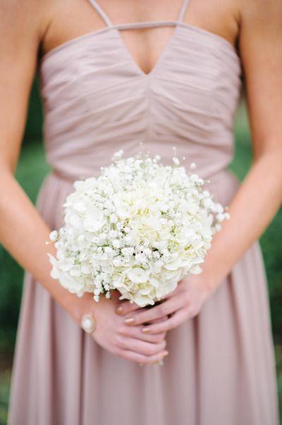 Baby's breath and hydrangea: http://www.stylemepretty.com/little-black-book-blog/2015/05/20/elegant-summer-wedding-at-cypress-grove-estate-house/ | Photography: Best Photo - http://joshandrachelbest.com/