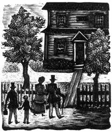 Иллюстрация к книге Т.-Б. Олдрича «Воспоминания американского школьника»