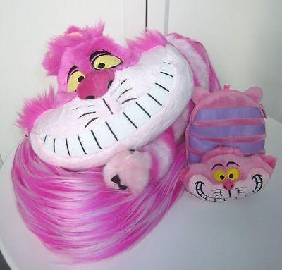 Set Disney Alice in Wonderland Cheshire Cat Long Tail Stole Boa Scarf Plush Doll