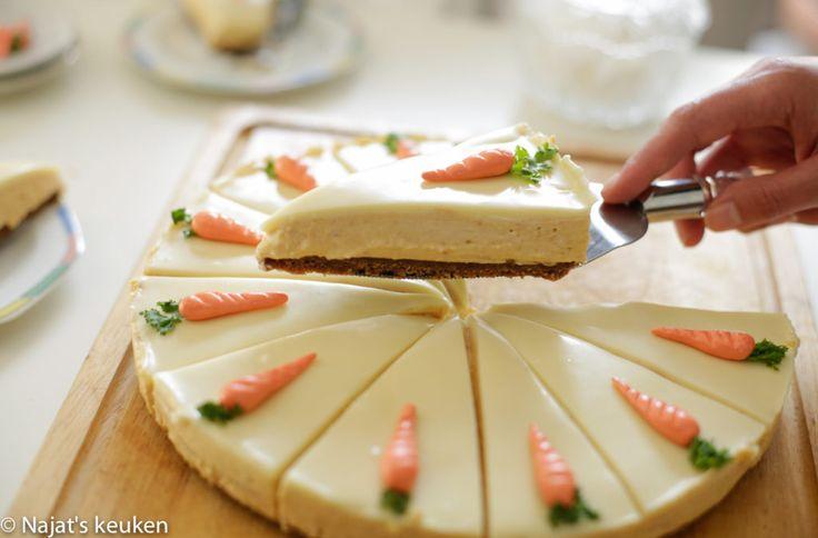 Wortel cheesecake | Kookmutsjes