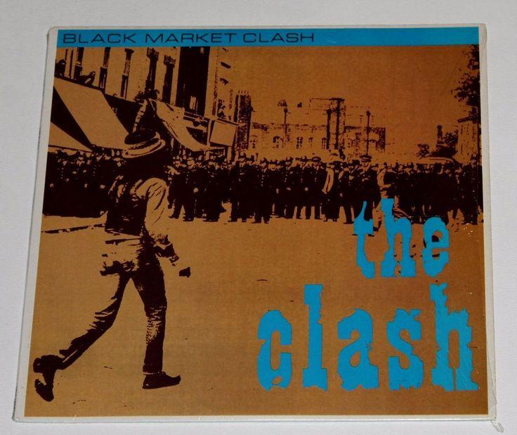 The Clash – Black Market Clash LP Vinyl Record  #Aria