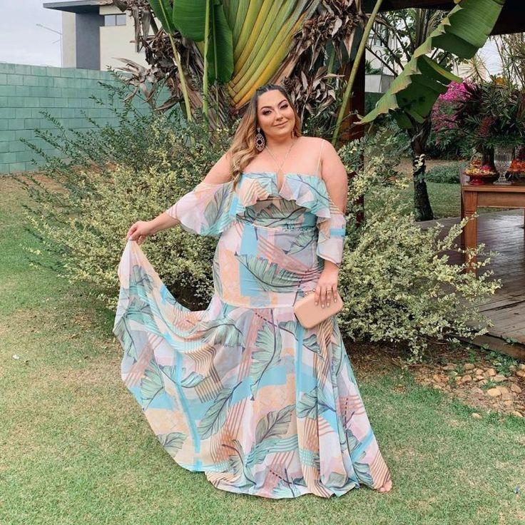 Natali Santos » Arquivo Vestido Plus Size para Festa por Natali Santos ......   Vestidos, Vestido de festa estampado, Moda plus size