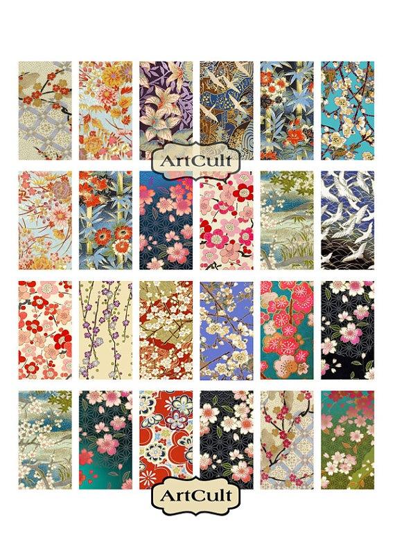 WASHI ORNAMENTS 1x2 inch Digital Collage Sheet by ArtCult on Etsy, $4.60