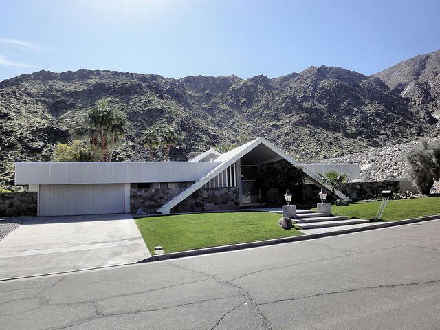 Palm Springs Modern HomePalm Springs, Alexander Construction, Palms Spring, Buildings House, Midcentury, Modern Home, Mid Century Architecture, Architecture Design, Spring Modern