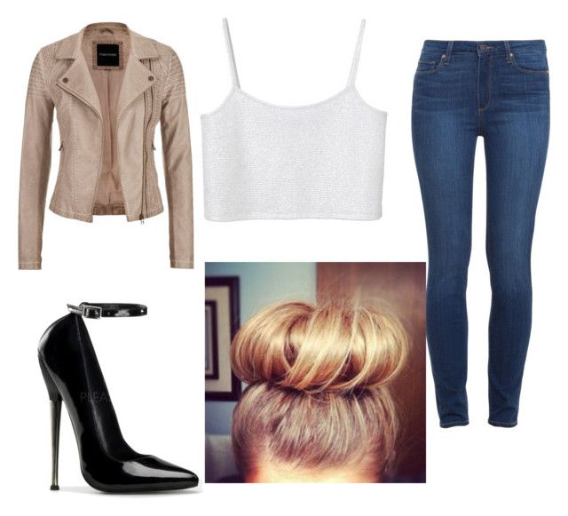 """WWE Diva Lana"" by quatasialouis on Polyvore featuring Monki, Paige Denim and maurices"