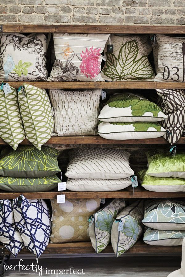 93 best images about cushion display ideas on pinterest news online design files and shelves - Home furnishing stores ...