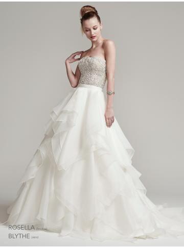 organza menyasszonyi ruha ujjatlan backless hercegnő kristály medál