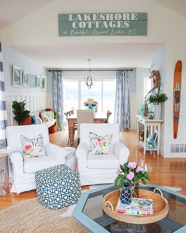Our Favorite Pinterest Profiles For Decorating Ideas: Best 25+ Cottage Living Rooms Ideas On Pinterest