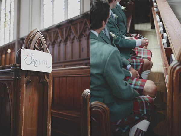 Vintage Scottish Wedding