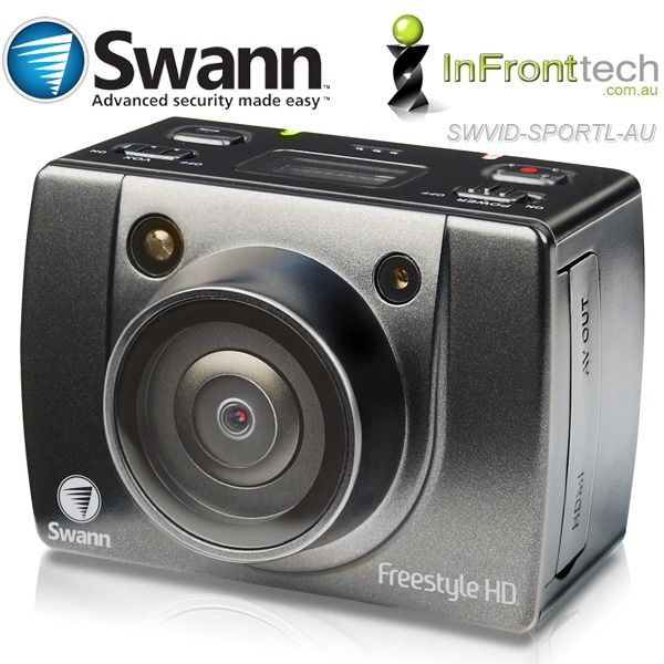 Buy Online Now:  Swann Freestyle HD SD Recorder 1080p - Fast Shipping to all parts of Australia