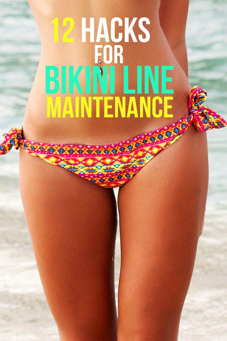 Maintaining bikini line