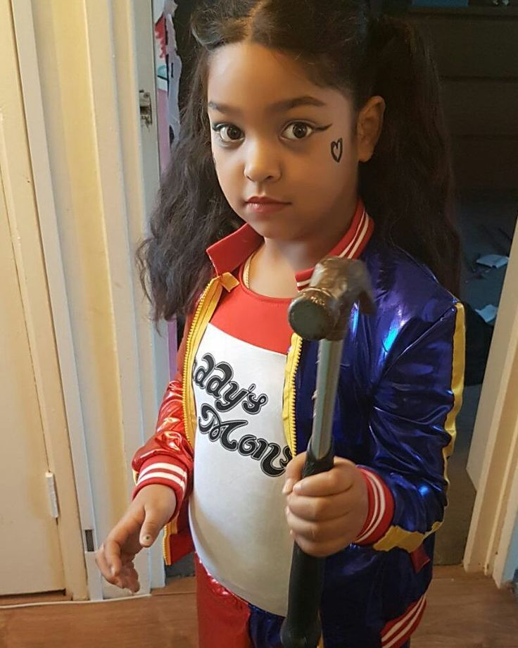 Children in Need  #HarleyQuinn #SuicideSquad #Goals #Princess #SpoiltRotten #PropertyOfJoker #Batman #DC #Comics #His  #MakeUp #RedAndBlue #Hair #PigTails #MyPrincess #Costume #Cosplay #Shes6 #LoveHer #Love #DaddysLilMonster #Gassed #Tattoo #PicOfTheDay #InstaDaily #HappyFriday #Weekend #ChildrenInNeed #2017