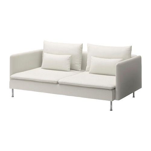 SÖDERHAMN 3-pers. sofa - Gräsbo hvid - IKEA