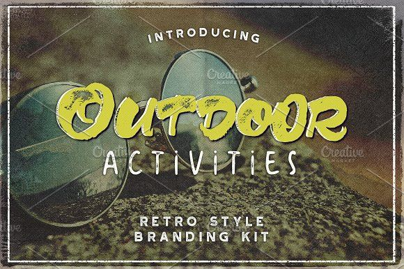 Outdoor Activities Branding Kit by JeksonGraphics on @creativemarket https://crmrkt.com/v9XvBD