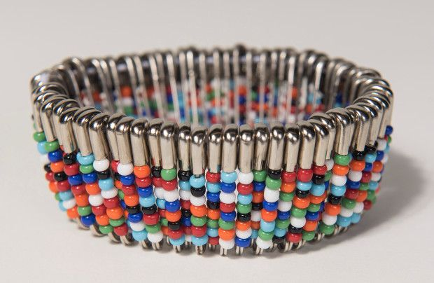 Image result for safety pin bead