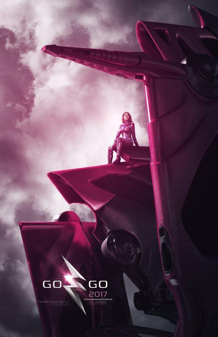 Power Rangers : les Zords dévoilés sur des superbes affiches !