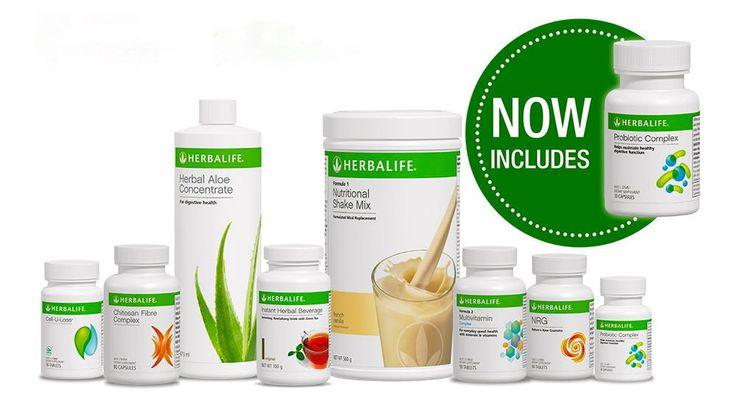 Herbalife Ultimate Programme Vanilla, Chocolate Berry or Cookies & Cream
