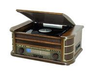 Soundmaster Nostalgic Music-Centre LP, CD/MP3, USB, Cassette, Radio - Konerauta.fi