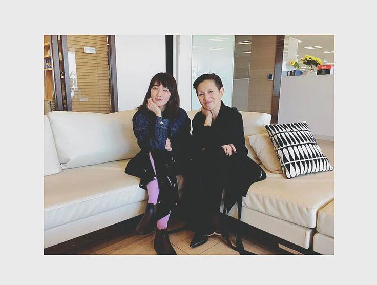 """""""new! lifestyle college"""" 本日から吉岡里帆1人でMCを務めます、 UR lifestylecollegeが放送開始します! 第一回目のスペシャルゲストは 夏木マリさんです ど - riho_yoshioka"""