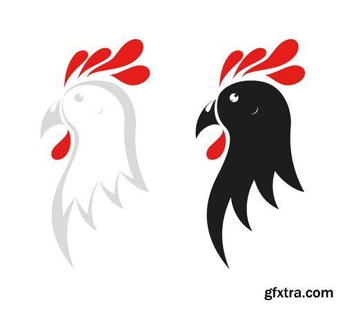 Chicken New Logos 25xEPS
