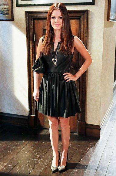Thakoon dress, Chanel Purse, Gillian Steinhardt necklace, Shoemint shoes (by Rachel Bilson)