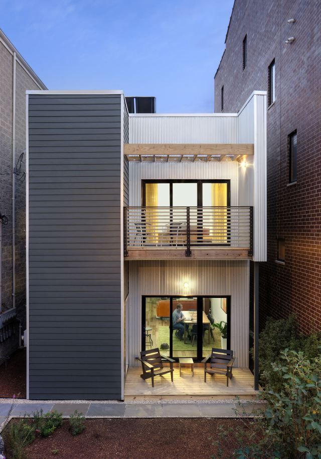 """Muji's """"Vertical House"""" isn't the only nifty prefab home on the market now - via @qz"""