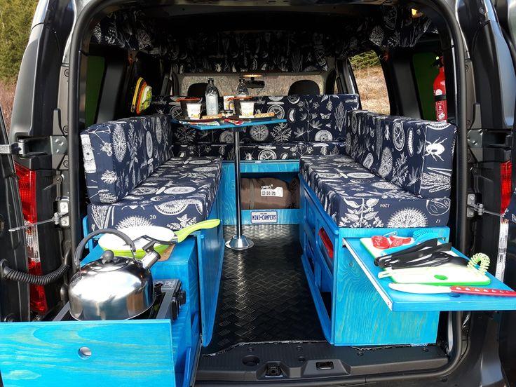 Dacia Dokker Mini Camper. Traveling the country in a mini