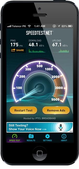 SPEEDTEST V3.0 FOR IOS RELEASED; FEATURES SUPPORT FOR IPHONE 5, REVAMPED UI, MORE Posted on Mar 22, 2013  When it comes to testing the speed of one's internet connection, few do it better than Speedtest.net for obvious reasons. The site has long since been a portal for providing accurate speed tests, and in more recent times, its mobile app has helped those on-the-fly to detect the speed of their cellular data or connected hotspot. Today, the iOS Speedtest.net ...