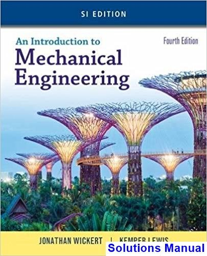 71 best books images on pinterest mechanical engineering chemical solutions manual for introduction to mechanical engineering si edition 4th edition by wickert ibsn 9781305635753 fandeluxe Images