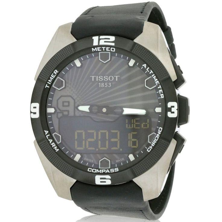 Tissot T-Touch Expert Tony Parker Mens Watch T0914204606100