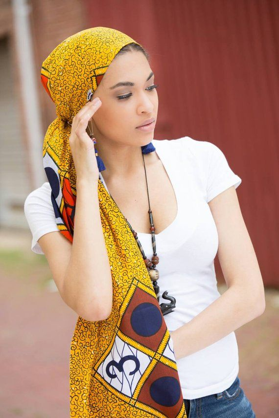 African clothing, African fabric, African head wraps, Head wraps for women, Headwraps, African scarf  – Braided