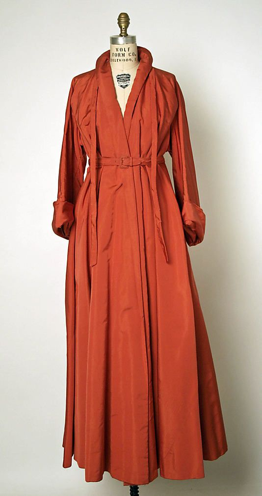 Coat, Evening - House of Dior 1947