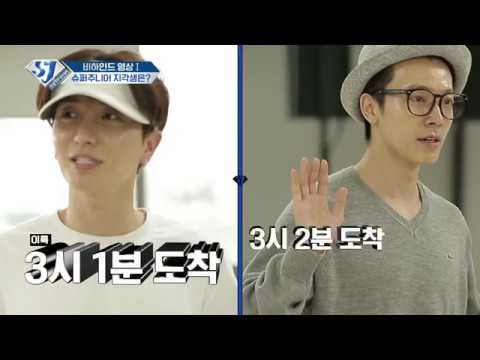 ENG] SJ RETURNS - [BEHIND FOOTAGE] SJ'S TARDINESS | super junior