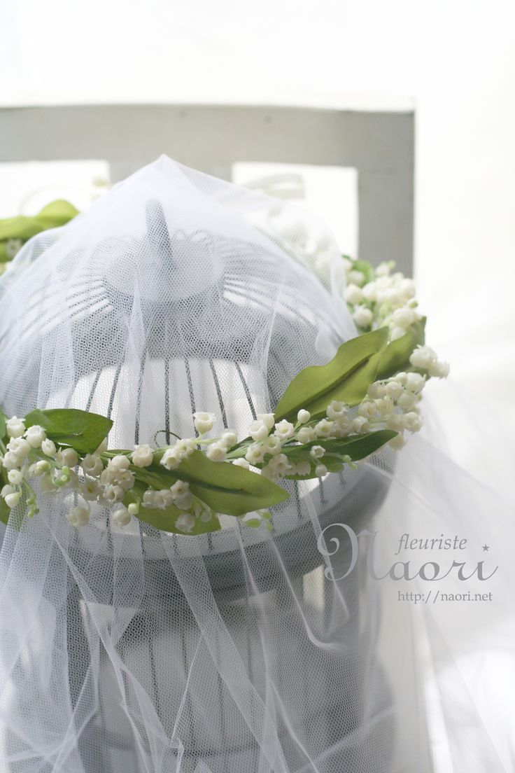 26 best lily of the valley images on pinterest lily of the crown of a lily of the valley wedding http dhlflorist Choice Image