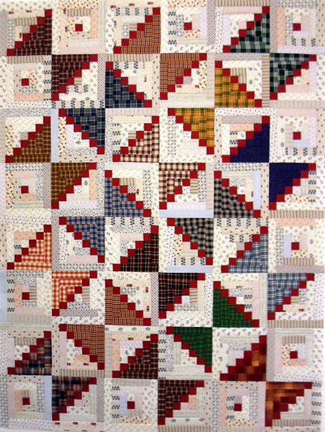 1000+ images about Log Cabin Quilt Layouts on Pinterest | Log ...